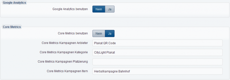 externes Tracking