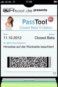 PassTool.com startet als erster vollwertiger Passbook-Service