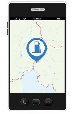 mit diesen apps kann man bares geld sparen die billigste tankstelle per smartphone finden qrtool. Black Bedroom Furniture Sets. Home Design Ideas